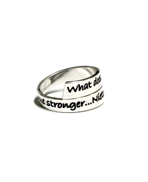 Nietzche Wrap Ring
