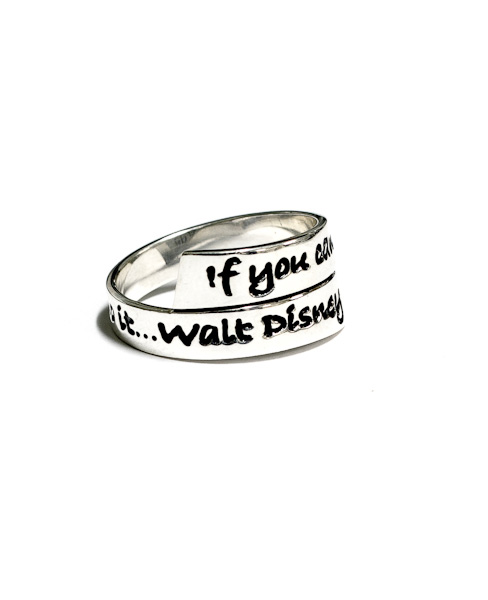 Walt Disney Wrap Ring