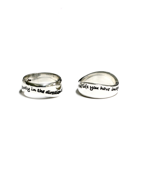 Thoreau Ring set