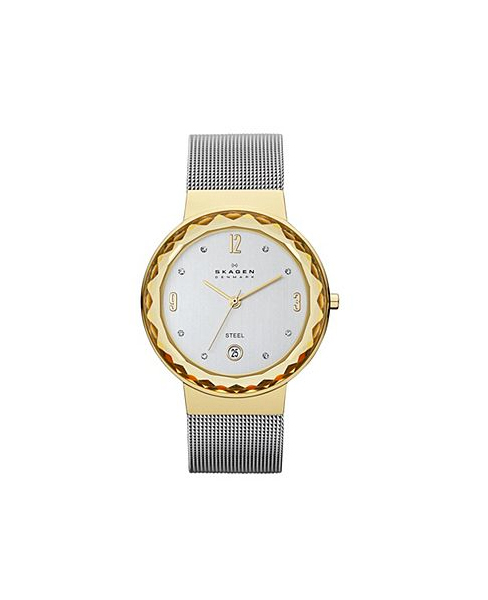 CLASSIC TWO TONE MESH WOMEN'S WATCH SKW2002