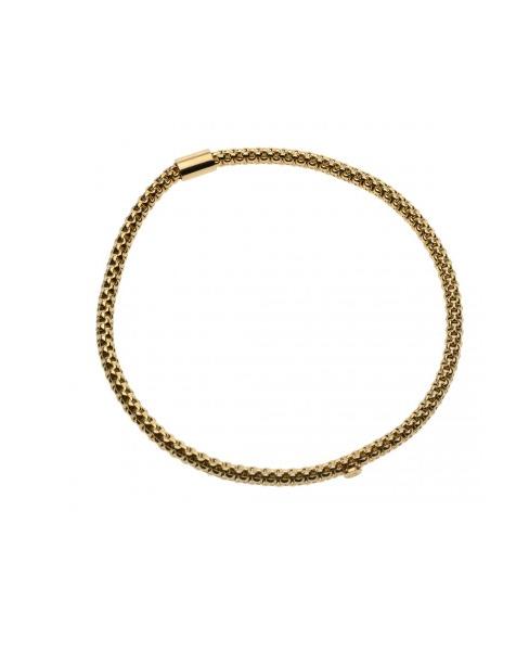 Mesh Mash Bracelet Gold (3mm)