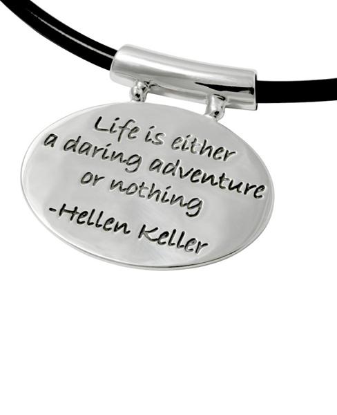 Helen Keller Pendant